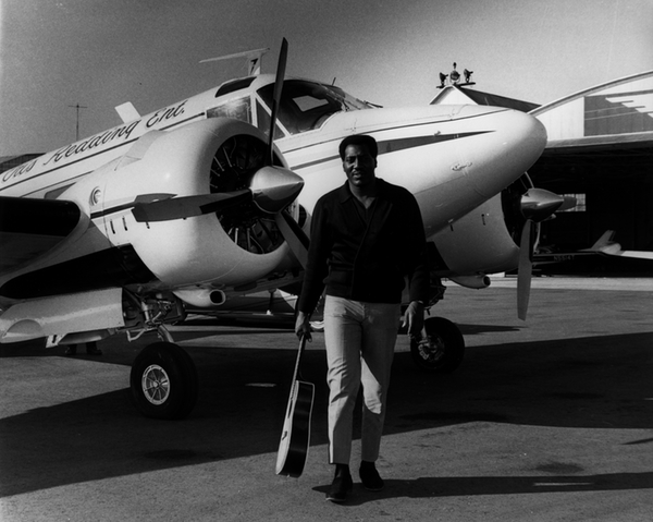 Otis Redding and Plane